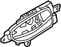Nissan Pathfinder Door Trim Panel Clip Handle Handle
