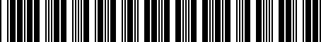 Barcode for 3392066E60