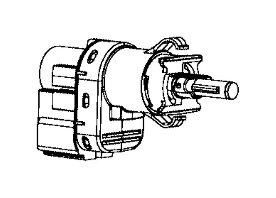 fiat 500l brake light switch  stop lamp  stoplamp switch  500  500e  compass