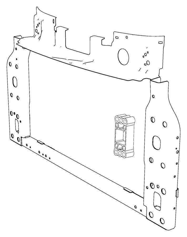 fiat 500 support  panel  radiator  w  abarth  w  o abarth  w  o abarth  all  w  o