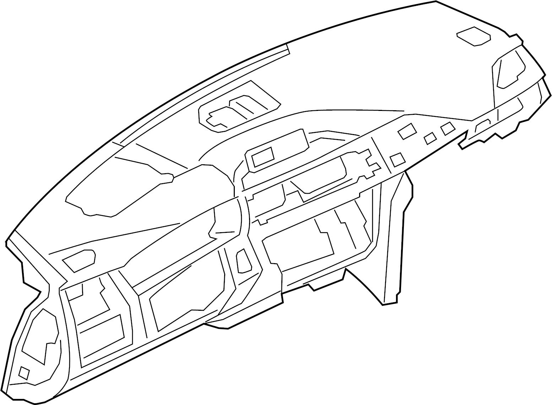 Bmw M4 Dashboard Panel Instrument Panel Leather Panels