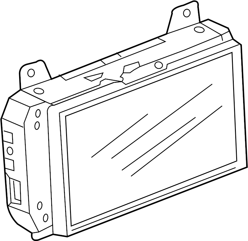 mini cooper central information displ  display unit  gps navigation system  w  clubman