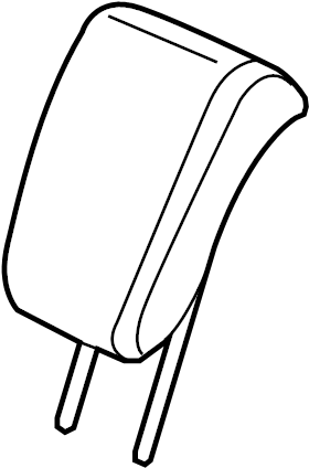 2016 honda odyssey headrest  yr400l   headrest  center