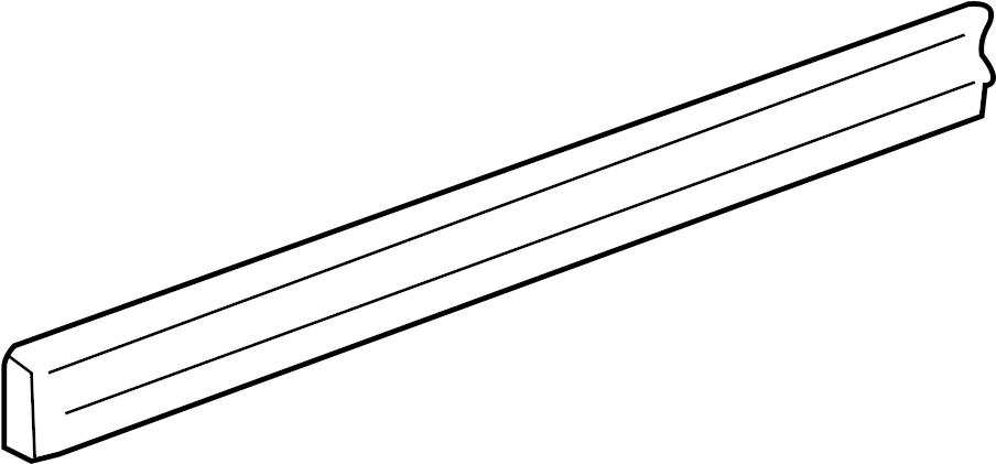 chevrolet silverado 2500 molding - 88979825