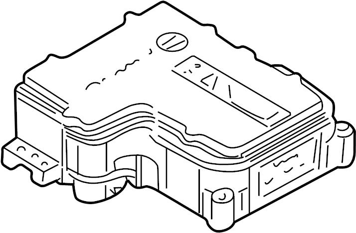 gmc sierra 1500 abs control module - 19244895