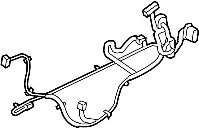 chevrolet equinox door wiring harness  wire harness  l